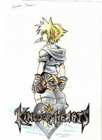 Sora Kingdom Hearts 2 by Cornuts16