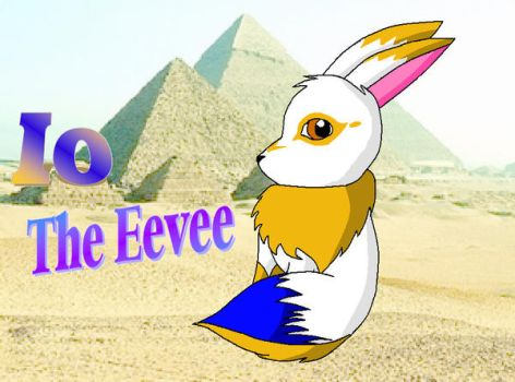 Io the Eevee Request by glow-at-night