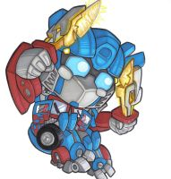 little movie optimus by prisonsuit-rabbitman