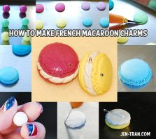 French Macaroon Charm Tutorial by xlilbabydragonx