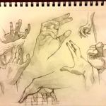 Hand studies II by Acousticletters