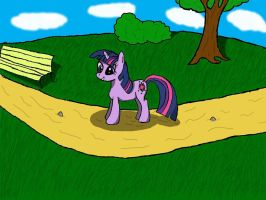 twilight sparkle by beginerbrony