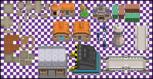 Driftveil City Tileset by UltimoSpriter
