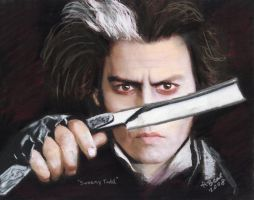 Sweeney Todd by sketchychick