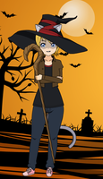 Abigail Blackthorn - Halloween 2013 by T1p2