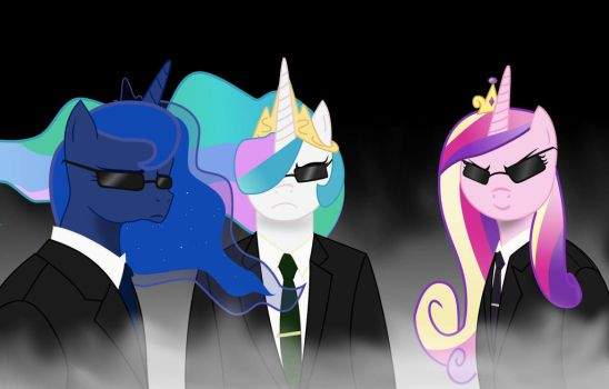 The Agents by PonyOverlord