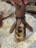 Owl-Face Plush back by Cerberus-Dragonfly