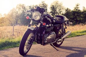 Thruxton of the evening by PerryPride