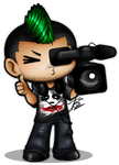 COMMISSION: Digital Punk Films by ProudPastry
