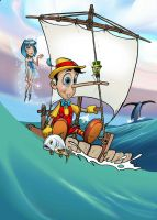 Pinocchio Poster by HowardMolloy