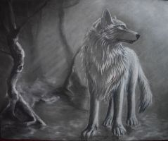 Guardian Wolf by Memphis-V