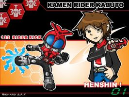 Kamen Rider Kabuto by the-tracer