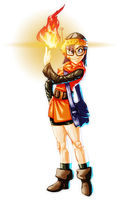 AGDQ2014 Chrono Trigger Lucas by koyote974