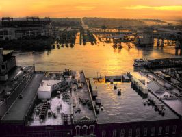 Nashville under water by ZhoraQ