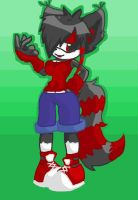 My Sonic chara drawn without a base! by Demonic-Twins