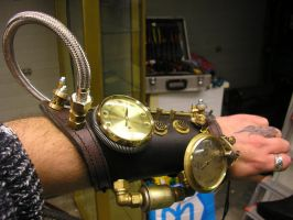 left brace sp on arm by SteamPunk-Creator