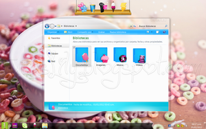 Extraordinary Theme For windows 7 by TutosLily