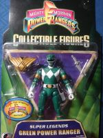 PR Super Legends Green Ranger by kilp007