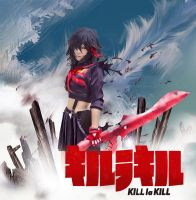 Kill La Kill cosplay anime poster by Inushio