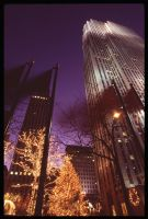 Rockefeller At Night by TheDreamerWorld
