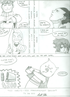 Naruto Wii Ad, pencil by gelatinemonkey