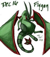 POKEDDEX Challenge - Dec 16 FLYGON by afrolady114