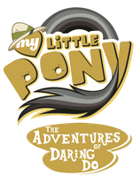 Fanart - MLP. My Little Pony Logo - Daring Do by jamescorck