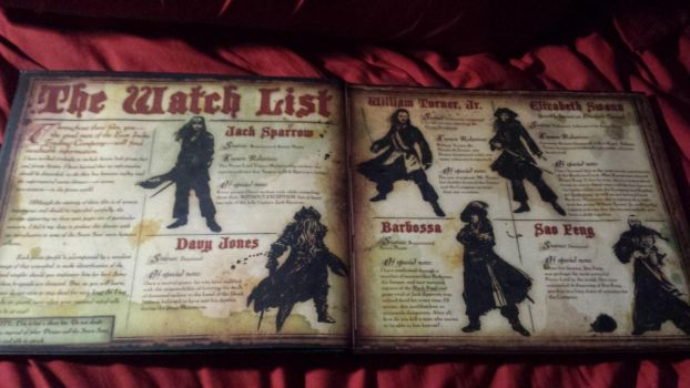 Pirates of the Caribbean Watch List by TheNoblePirate