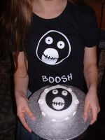 Mighty Boosh Cake by Llesidhe