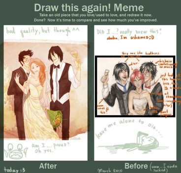 before and after meme by viria13