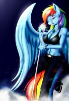 Rainbow X Fantasy by BluDraconoid
