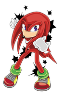 Knuckles The Echidna by Shyamiq