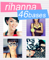 Rihanna icon bases by snappedbeat