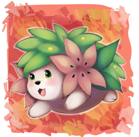 Merry (late) Christmas Shaymin by Joltik92