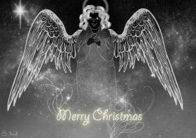 Angel of Christmas by nowiamhere