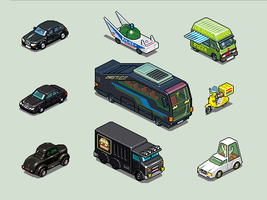 Assorted 2010 Automobiles by unusable