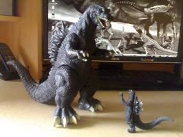 Godzilla - Father and Son by Spino2006
