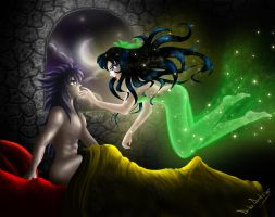 Magic Night for Charmian by Dido-Antares