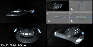 GALAXIA - the starship galaxia by sgste