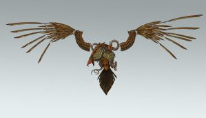 Mechanical Eagle by Sodano