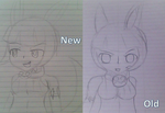 Ms Fortune before and after by ShortyCream97