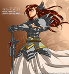 Erza Scarlet Vector by sonic12399
