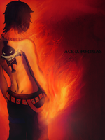 Ace D Portgas by Kamishiro-Yuki