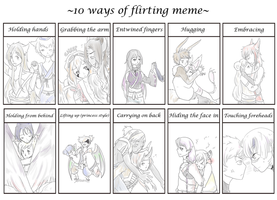 10 Ways of Pairing Meme by b0409d