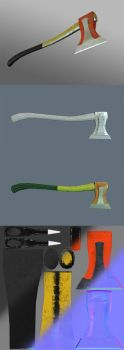 Fire Axe 2 - Model showcase by mexpex
