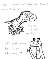 dinosaur thing because why not by shook12