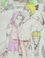 NaruSaku: Family Portrait by Ryeharo