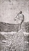 Giraffe by JessicaEdwards