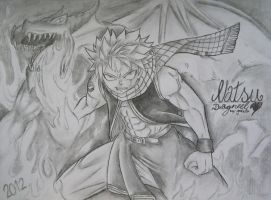Fairy Tail Natsu Dragneel by GraficFX