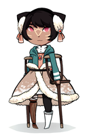 Winter Outfit Luluah by chibi-chubear